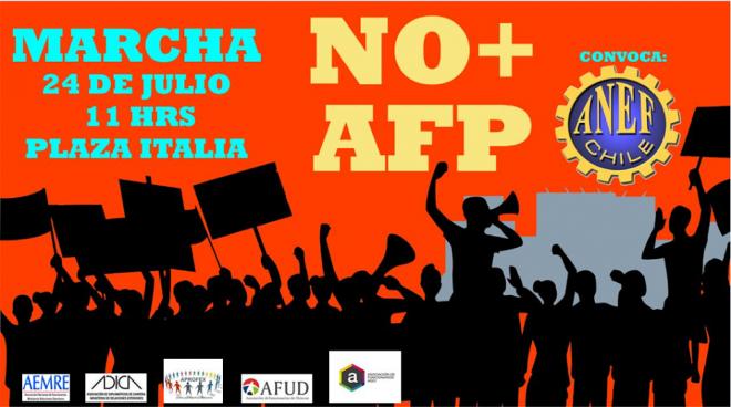 """Marcha """"No más AFP"""""""
