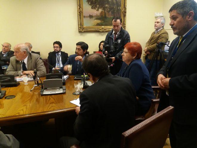Aprofex expuso ante comisión de Hacienda del Senado por ley de incentivo al retiro