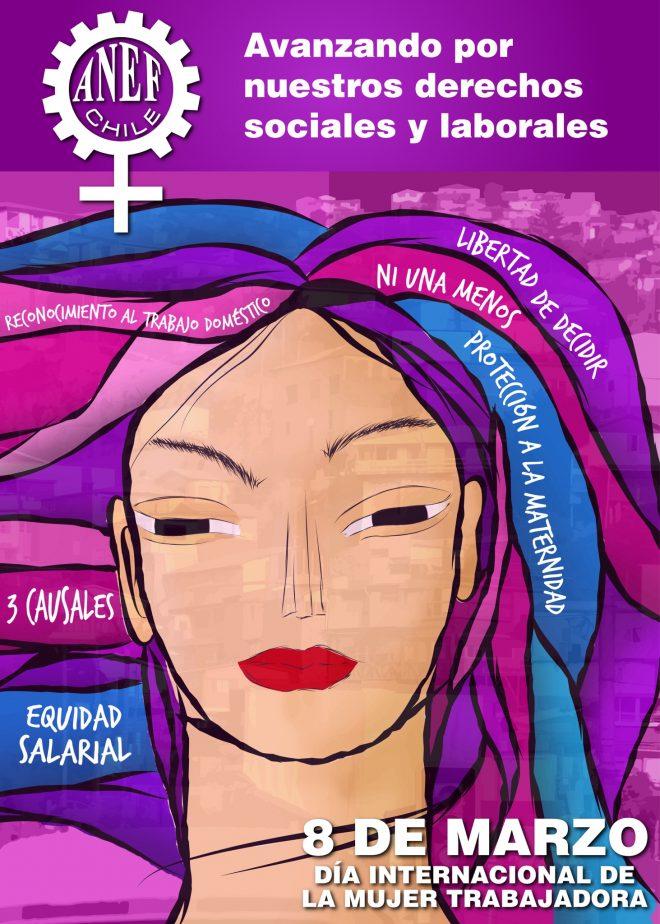 Comunicado ANEF por el Día Internacional de la Mujer