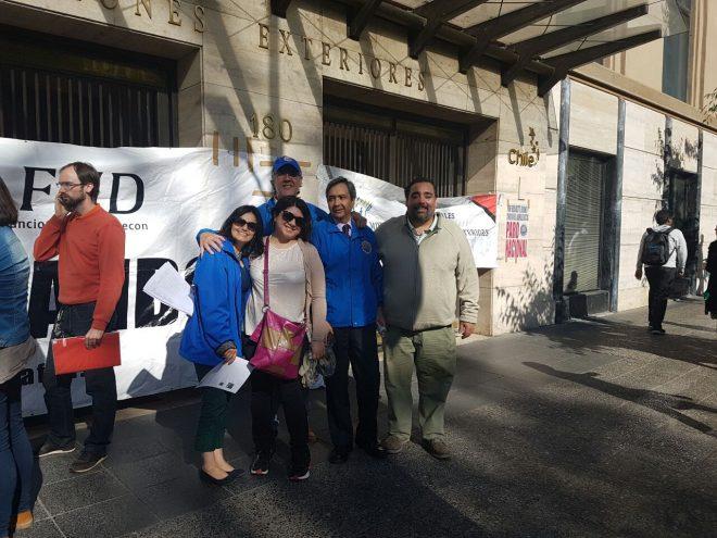 Alta participación en primera jornada de huelga del Sector Público