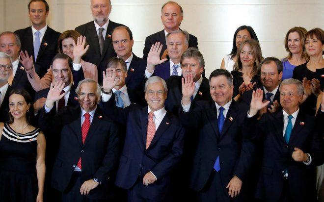 Sebastián Piñera revela su gabinete presidencial