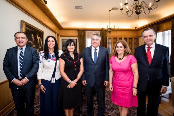APROFEX se despide del subsecretario Edgardo Riveros