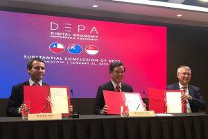 Chile, Nueva Zelanda y Singapur cierran negociaciones del 1° acuerdo sobre economía digital