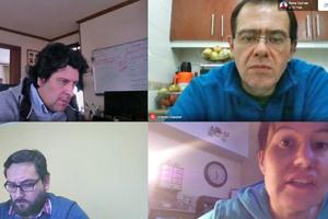 Reunión con socios de INACH