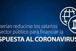 COVID-19 y salarios en sector público