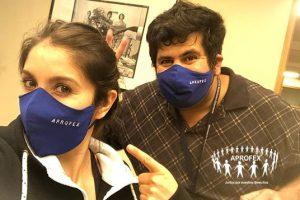 APROFEX entrega mascarillas a sus asociad@s